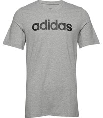 e lin tee t-shirts short-sleeved grå adidas performance