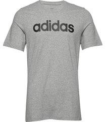 e lin tee t-shirts short-sleeved grå adidas performance