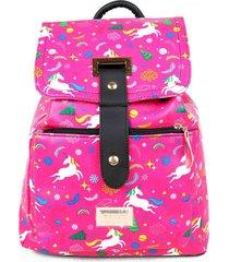 mochila rosa wacky modelo