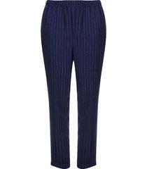 pantalón azul a rayas color azul, talla 20