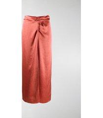 nanushka samara high-waisted skirt