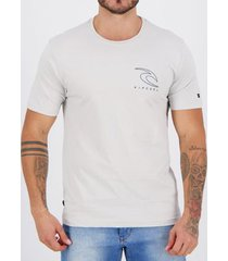 camiseta rip curl easy off white masculina