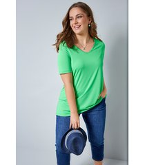 shirt janet & joyce groen