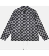 wesc men's coach wasted youth printed jacket