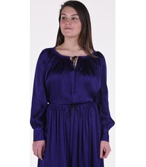 forte_forte blouse 7251 paars-