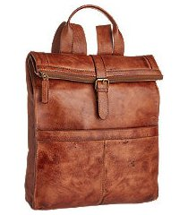 jos. a. bank genuine leather backpack