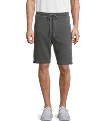 kinetix men's ezili drawstring shorts - green - size m