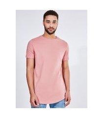 camiseta básica alongada