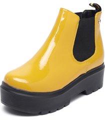 botín amarillo bonnyfranco