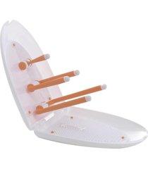 escorredor hold & fold premium laranja - tinok - tricae