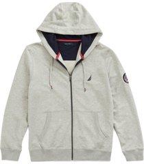 nautica men's french terry full-zip hoodie