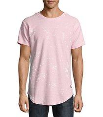 splattered crewneck t-shirt