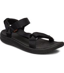 m sanborn universal shoes summer shoes sandals svart teva