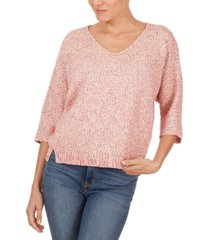 adyson parker marled-knit sweater