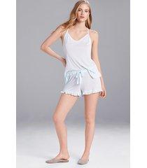 josie jerseys shorts pajamas / sleepwear / loungewear, women's, blue, size s natori