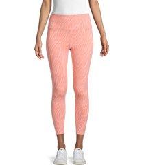 nanette lepore women's printed leggings - candle light - size m