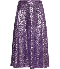 henny skirt 11344 knälång kjol lila samsøe samsøe