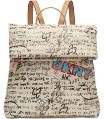 dkny tilly graffiti backpack, created for macy's