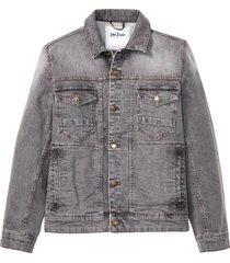 giacca di jeans elasticizzata (grigio) - john baner jeanswear