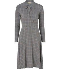 klänning elvy check jersey dress