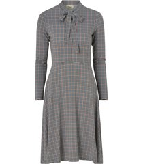klänning elvy check jersey dress