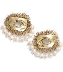 women's ellery pedigree xl eye earrings