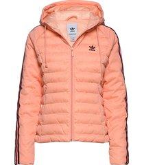 slim jacket gevoerd jack roze adidas originals