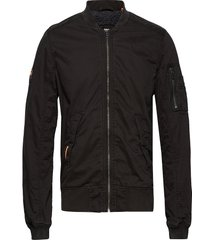 rookie winter duty bomber bomberjacka jacka svart superdry