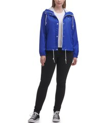 levi's trendy plus size active rain slicker jacket