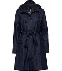 curve jacket regnkläder blå rains