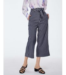 spodnie culotte wiązane