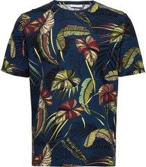 aop tee s/s t-shirts short-sleeved multi/mönstrad lindbergh