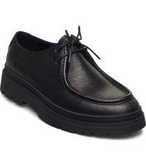 james loafers låga skor svart vagabond