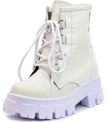 botas blanco m&m 3110a