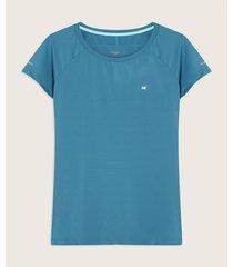 camiseta manga ranglan con espalda en malla