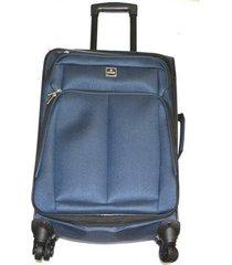 maleta de lona bj mediana 24pulgadas- azul