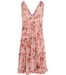 cassia floral v-neck dress