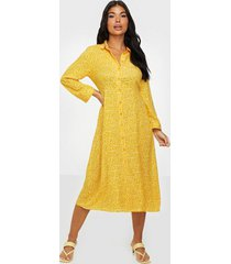 y.a.s yasjanice 3/4 midi dress s. loose fit dresses