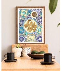 churros - plakat fine art 50x70 cm