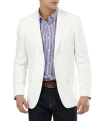 tommy hilfiger men's slim-fit solid weave blazer