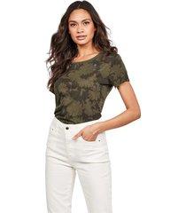 g-star d16268 c224 gyre allover t shirt and tank women green