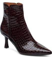 booties 3354 shoes boots ankle boots ankle boots with heel brun billi bi
