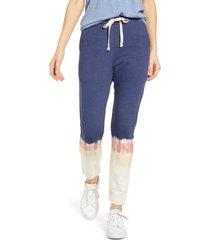 women's rails oakland tie dye jogger pants, size large - blue