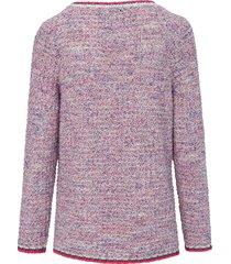 trui met ronde hals en lange mouwen van looxent multicolour