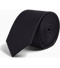 mens black premium silk tie