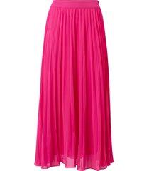 lång, plisserad kjol