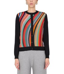 ps by paul smith round neck cardigan