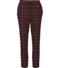 pantalon met ruiten parien  zwart
