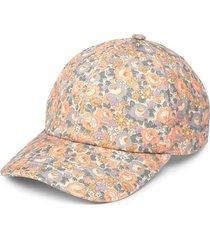 gucci floral print cap - pink