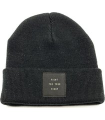 gorro negro fight for your right callejeros